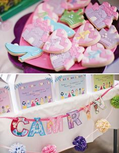 Cute & Colorful Disney Princess Birthday Party