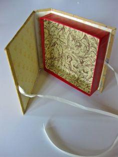 Schachtel mit Klappdeckel _ Buch