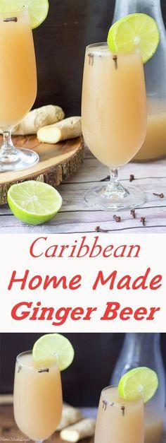 Trinidad Homemade Ginger Beer