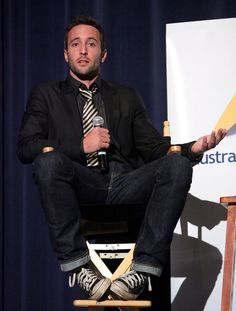 "Actor Alex O'Loughlin attends the Australians in Film screening of CBS Films' ""The Back-Up Plan"" at the Harmony Gold Theater on April 20, 2010 in Los Angeles, California."