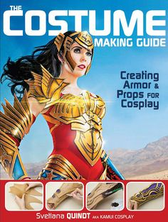 Hi! Here you'll find more info on my Tutorial Books about Cosplay Armor Making - Painting - Prop Making - LED Lights - Armor Patterns and more.