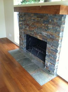 slate tile fireplace surround. Custom Slate Fireplace 27  Stunning Fireplace Tile Ideas For Your Home Slate