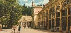 Mariánské Lázně Places Of Interest, Bratislava, Prague, Postcards, 1960s, Street View, Photography, Photograph, Fotografie