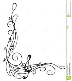 Pix For > Music Notes Border: | Clipart Panda - Free Clipart Images