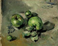 Paul Cézanne Green apples circa 1873