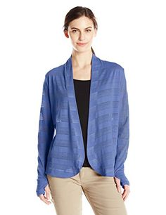 Columbia Womens Inner Luminosity Wrap Large Bluebell >>> To view further for this item, visit the image link.