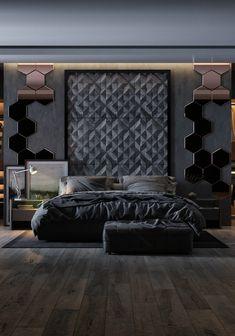 Modern Luxury Bedroom, Luxury Bedroom Design, Interior Design Your Home, Bedroom Closet Design, Bedroom Furniture Design, Home Room Design, Luxurious Bedrooms, Bedroom Setup, Master Bedroom Interior