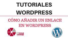 Cómo añadir un enlace en WordPress