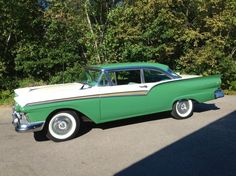 1957 Ford Fairlane 500 Maintenance of old vehicles: the material for new cogs/casters/gears/pads could be cast polyamide which I (Cast polyamide) can produce Ford Fairlane, Car Ford, Ford Trucks, Rat Rods, Vintage Cars, Antique Cars, Retro Cars, Ford Lincoln Mercury, Us Cars