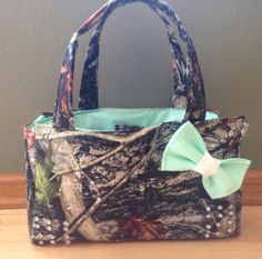 Hardwoods Camo Purse with extras by BackwoodsBarbieAcc on Etsy, $60.00