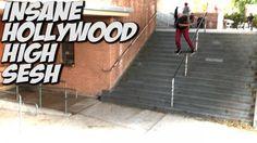 LIL KIDS SKATE HOLLYWOOD HIGH 16 STAIR !!! – A DAY WITH NKA – – Nka Vids Skateboarding: Source: nigel alexander