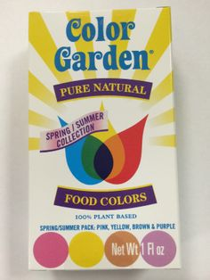 Food coloring with, No synthetic dyes or corn syrup, gluten free ...