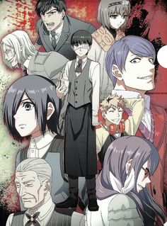 Tokyo Ghoul, Neji E Tenten, Japanese Poster, Anime Stickers, Kaneki, Manhwa, Anime Characters, Pop Culture, Anime Art