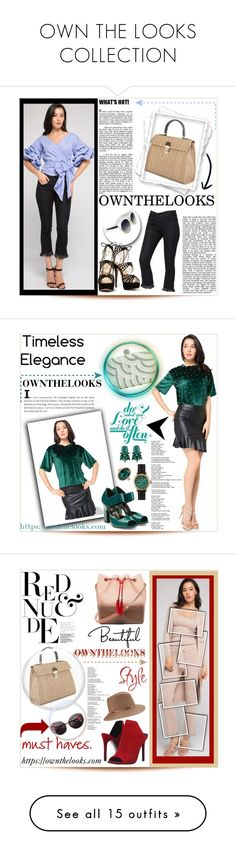 """""""OWN THE LOOKS COLLECTION"""" by purplerose27 ❤ liked on Polyvore featuring chic, ownthelooks, Pierre Hardy, ALDO, Shinola, Steve Madden, Eugenia Kim, Miu Miu, Dsquared2 and Diana M. Jewels"""