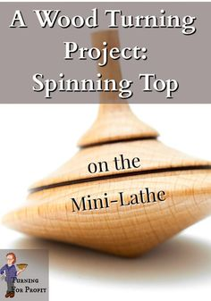 This project is turning a spinning top out of cherry wood. A quick task for my new mini lathe using a one way chuck. I wanted to see how the mini lathe handles a heavy multi-jawed chuck as well as head stock turning and a good amount of torque. Follow along to see how my mini lathe performs. Spinning Top, Wood Turning Projects, Unique Words, Wooden Tops, Lathe, Cherry, Woodturning, Mini, Puzzles