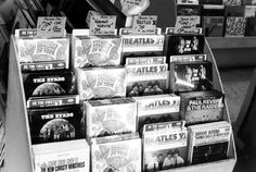 Tower Records Endcap with Hermans Hermits, The Beatles, The Byrds. Herman's Hermits, Independent Music, British Invasion, Music Store, Tower Records, The Beatles, Rock N Roll, How To Introduce Yourself, Pavement