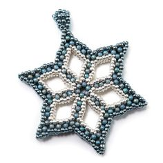 Snowflake Pendant by Cindy Holsclaw
