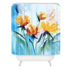 Costa Del Sol Shower Curtain