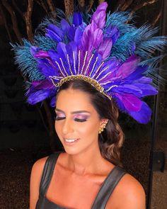 Get The Look // Baile da Vogue - The Fashion Hall Carnival Fashion, Carnival Outfits, Carnival Costumes, Feather Headdress, Feather Headband, Samba Costume, Brazil Carnival, Crazy Hats, Festival Wear