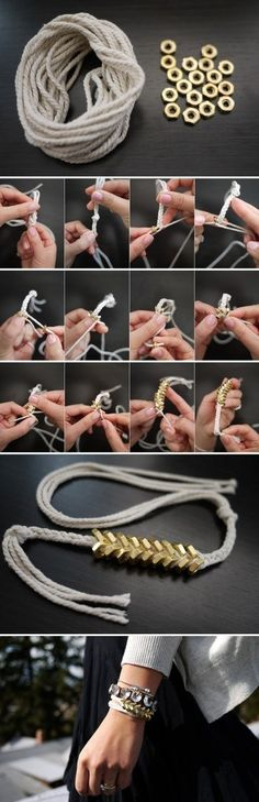 #DIY #fun #bracelet #fashion #accesories #howto #tutorial