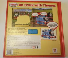 Large hardback electronic sound book - Fully working - Great little talking/singing book for your little one who loves trains. R ead along and push different parts of the Thomas 3D model train in centre of book as you go and it says many different things. | eBay!
