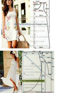 Коллекция платьев на любой случай: простые и эффектные платья с выкройками...
