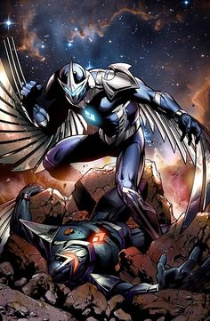 Darkhawk #comics #art