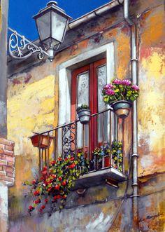 Balcony ~ Francis Mangialardi
