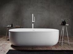 Baignoire ilôt ovale en Solid Surface® PRIME | Baignoire ilôt by INBANI
