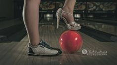 Girl senior picture idea, bowling.