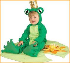 frog princ, frog costum, frogs, kid