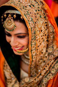Bridal Nose Rings - Parvinder & Avneet wedding story | WedMeGood #wedmegood #noserings