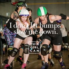 Create your own online poster using the app! Use your mobile or tablet to get started. This Girl Can, I Can Do It, Online Posters, She Believed She Could, Roller Skating, These Girls, Get Started, Skate, Healthy Living