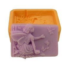 Fairy Soap Molds Lovely Angel Shape Silicone mold Handmade Soap Mold Biscuit Mold
