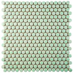 """Found it at Wayfair - Astraea 0.62"""" x 0.62"""" Porcelain Mosaic Tile in Mint"""