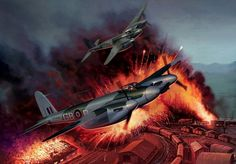 fc998f34ed8d2 de Havilland Mosquitos - BFD Fighter Aircraft