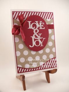 Joyful Polka Dots by inkpad - Cards and Paper Crafts at Splitcoaststampers