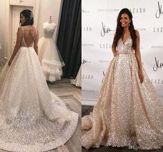 Resultado de imagem para sparkling wedding dress