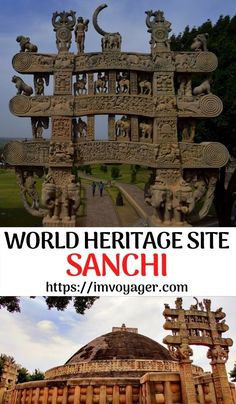 Sanchi Stupa in Madhya Pradesh, India is not only a UNESCO World Heritage site but also one of India's oldest stone structures & an important Buddhist site. Click to read. Sanchi Stupa - A UNESCO World Heritage Site | History, Facts & Information about Sanchi Stupa - a Buddhist Monument | Sanchi - Important Buddhist Site in India | Sanchi Stupa Madhya Pradesh | Ashoka Pillar at Sanchi | Sanchi Stupa architecture | where is Sanchi | who built Sanchi Stupa | Buddhist Monument | About Sanchi… Site History, History Facts, Cool Places To Visit, Places To Travel, Travel Destinations, India Travel Guide, Asia Travel, Sanchi Stupa, Travel Guides