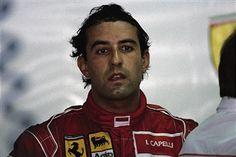 Ivan Capelli of Ferrari, German GP, Hockenheim 1992.
