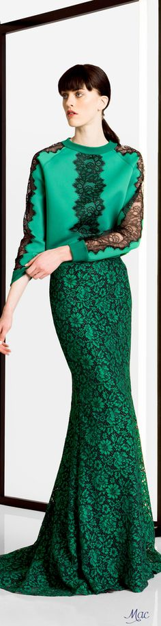 Carolina Herrera Pre Fall 2016 l Ria women fashion outfit clothing style apparel closet ideas Carolina Herrera, Only Fashion, Womens Fashion, Hijab Evening Dress, Mode Top, Dame, Cool Outfits, Casual, Style Inspiration