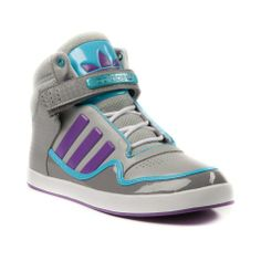 Womens adidas ADI-Rise 2.0 Athletic Shoe in Gray Purple Blue at Journeys Shoes.   I am in LOVE!!!!!!!!! I WANT THEM!!!!