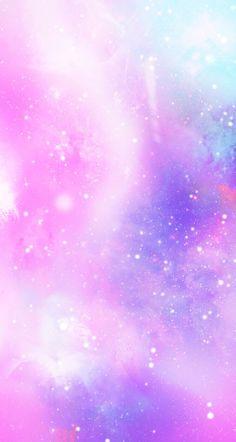 Purple galaxy iPhone wallpaper