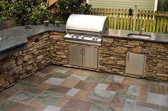 beautiful+Backyard+++Kitchen+Photo | Kitchen, Outdoor Kitchens Designs LaurieFlower 003: Beautiful Outdoor ...