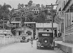 1950 Yabucoa Puerto Rico | Near the main plaza, 1941