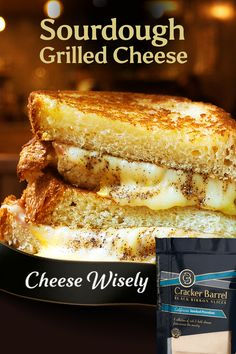 It doesn't take much to step up a classic grilled cheese. Why not indulge yourself with our new California Smoked Provolone? It provides the perfect melt and flavor on sourdough (or any bread!). Fall Recipes, Beef Recipes, Vegetarian Recipes, Recipies, I Love Food, Good Food, Yummy Food, Tasty, Kitchen Recipes