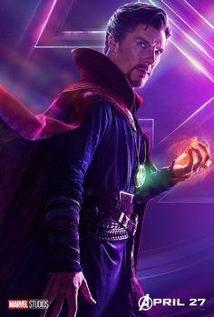Avengers: Infinity War Doctor Strange character original poster Marvel comic movie quality print