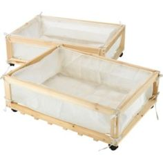 These are so handy for under cot storage if like us you are keeping baby in your room for a while :)