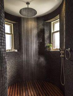 ❤ Check Out 25 Inspiring Rustic Bathroom Ideas - Traumhaus Dream Home Design, My Dream Home, Home Interior Design, Dream House Interior, Beautiful Houses Interior, Rustic House Design, Beautiful Home Interiors, Italian Interior Design, Home Design Diy