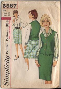 Simplicity 5587 a- 1964